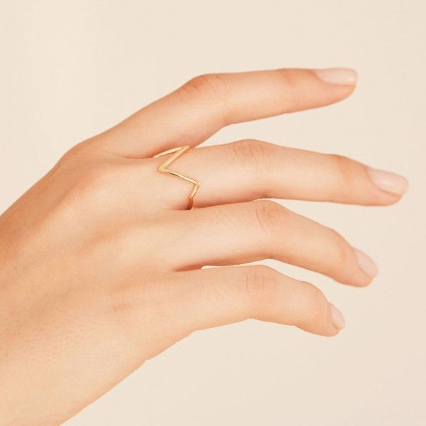 Mounty gold ring hand 2