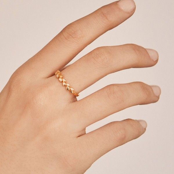 Laurea gold ring hand
