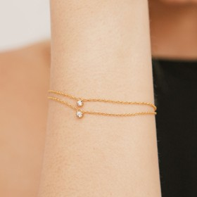 Binaria gold bracelet sample