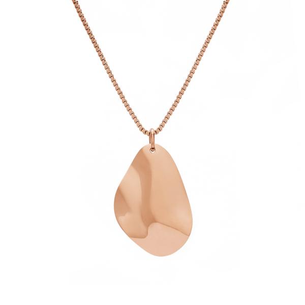Bastian rose gold necklace