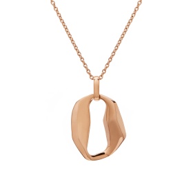 Ariel rose gold necklace