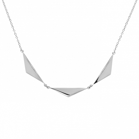 Kendra silver necklace