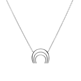 Murona silver necklace