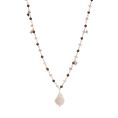 Black Spinel Pearl Gold necklace