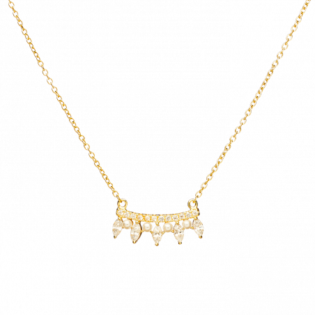 Becca gold necklace