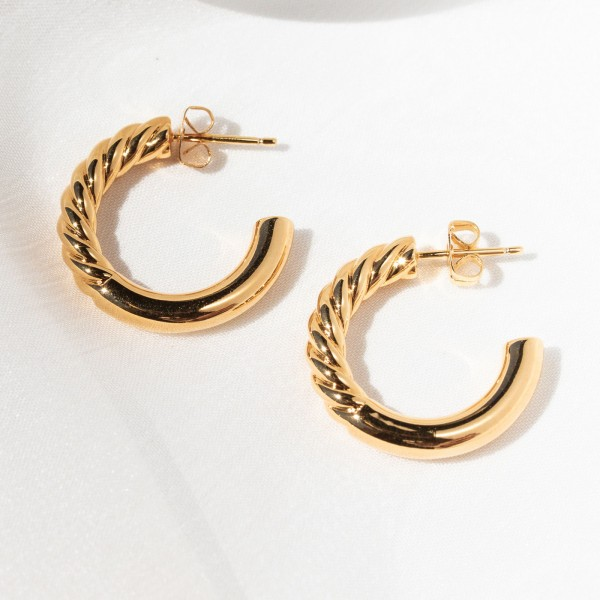 gold hoops Euphoria