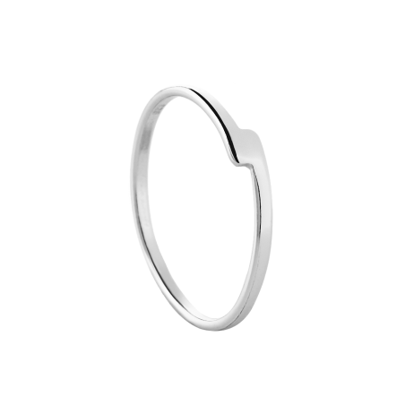 Unity silver ring