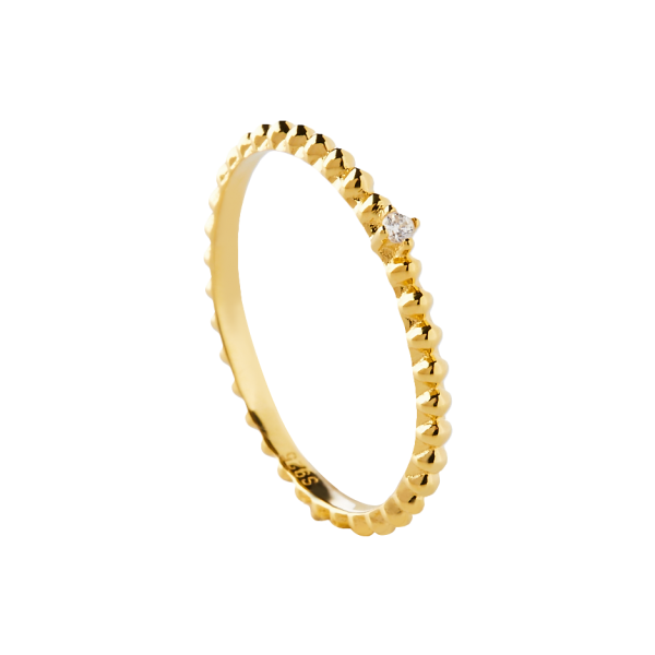 Rebel gold ring