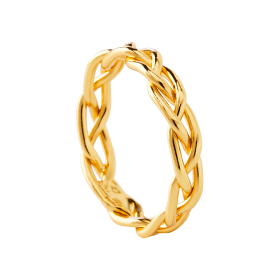 Anillo oro Braid